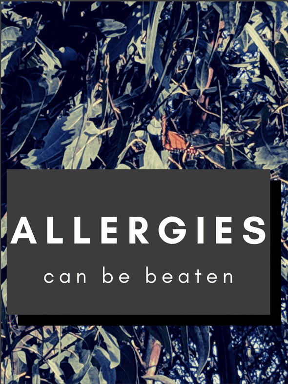 Allergies can be beaten.